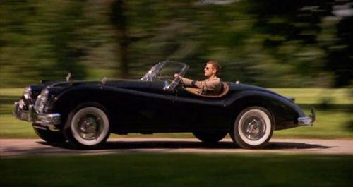"Sebastian's 1956 Jaguar XK140 car ""Cruel Intentions"" 1999"