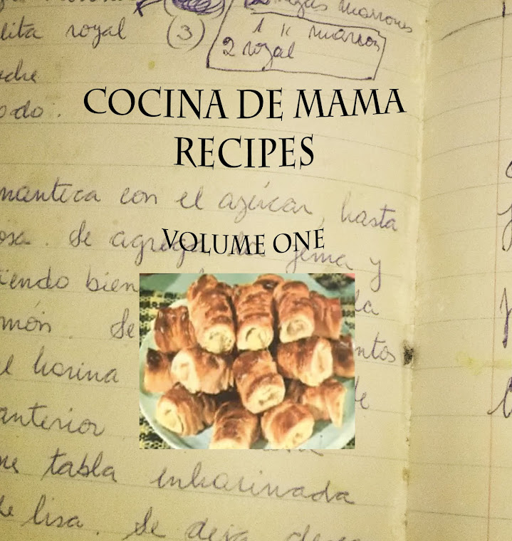 On Amazon: Cocina de Mama Recipes: Volume One