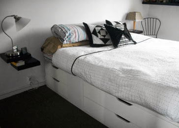 space saver bed ikea hackers bloglovin