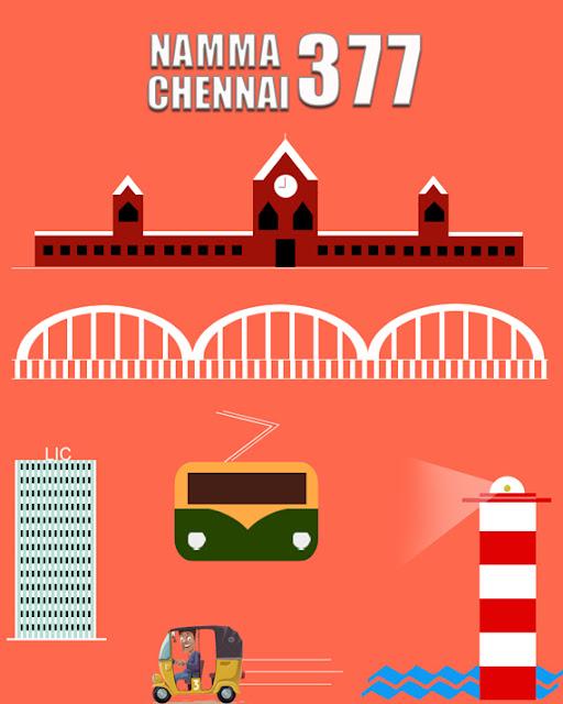 நம்ம சென்னை 377 !