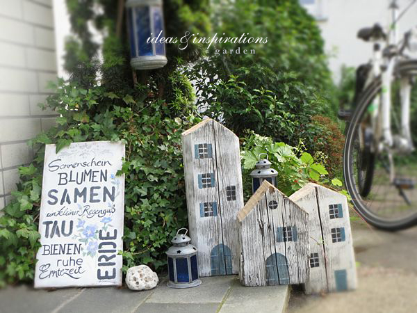 Ideas and inspirations gartenschild garden sign for Deko ideen eingangsbereich