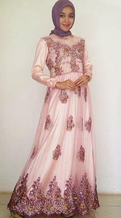 Kumpulan foto model baju kebaya gamis terbaru trend baju Foto model baju gamis pesta
