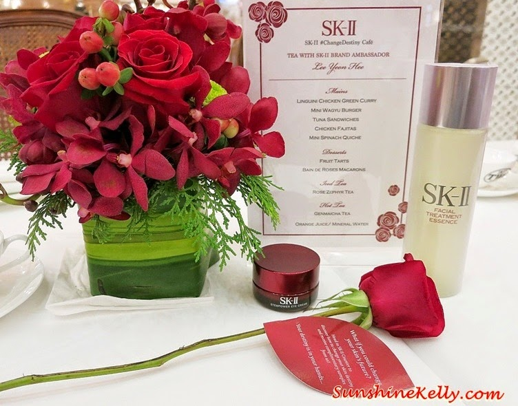 SK-II Change Destiny Tea Party with Lee Yeon Hee, SK-II, Korean Superstar, TWG Tea Salon, SK-II brand ambassador, lee yeon hee, Facial Treatment Essence, Stempower Eye Cream,