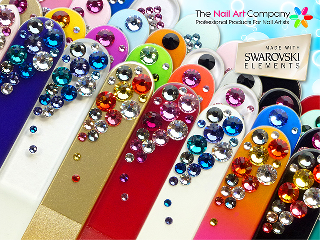 The Nail Art Company: Crystal Glass Nail Files. What are they? and ...