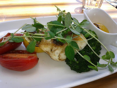 Baked snapper from Merrywell Melbourne