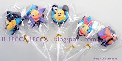 lollichoc mickey mouse, minnie, donald duck, daisy