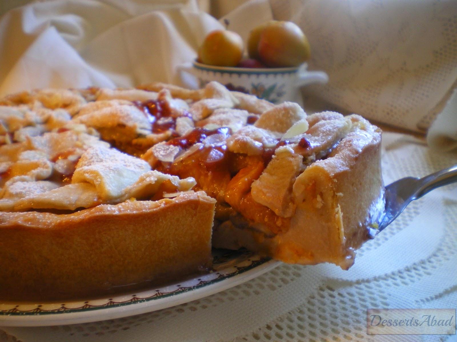 Torta de ciruelas a la inglesa {Plum Pie}