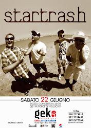 Startrash Live al Geko di San Benedetto del Tronto