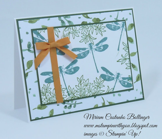 Miriam Castanho Bollinger, #mstampinwithyou, stampin up, demonstrator, dsc, all occasions card, english garden dsp, awesomely artistic, su