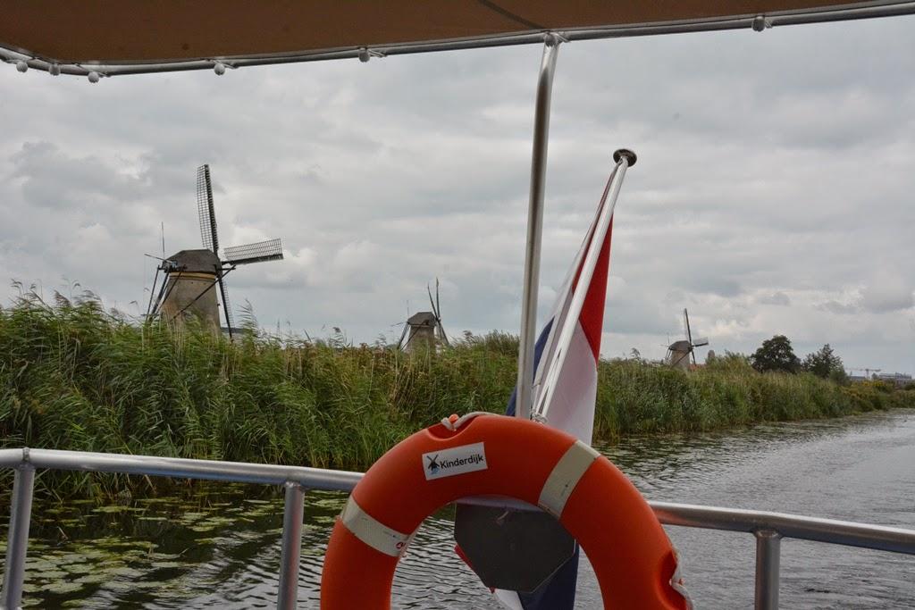 Kinderdijk boat river