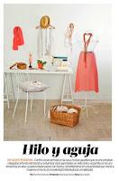 El baul de las costureras en la revista Mujer