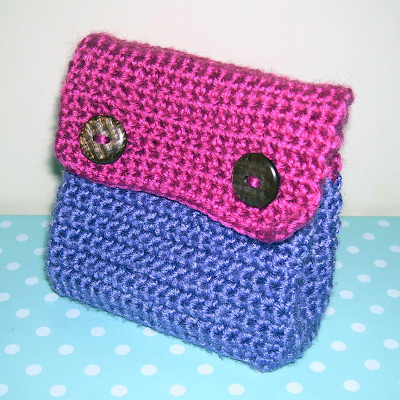 Crochet Small Tote Bag Pattern : SMALL PURSE CROCHET PATTERNS ? Free Crochet Patterns