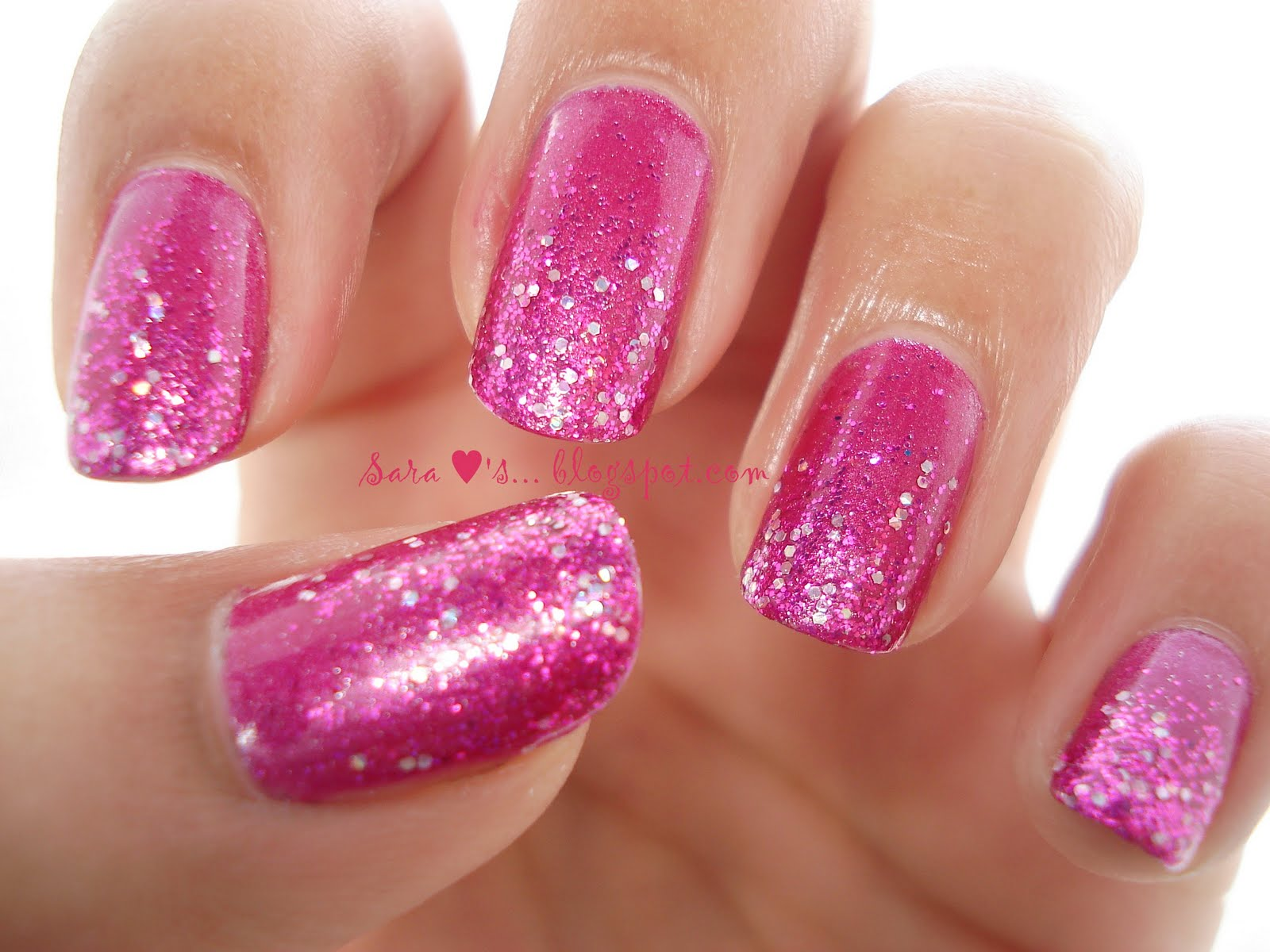 Glittery.... Funky.... Pinki..... | All Those Pretty Little Things