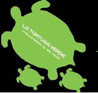 LA TORTUGA VERDE Playa El Cuco EL SALVADOR