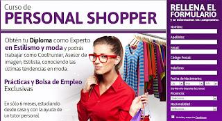 curso de personal shopper barato