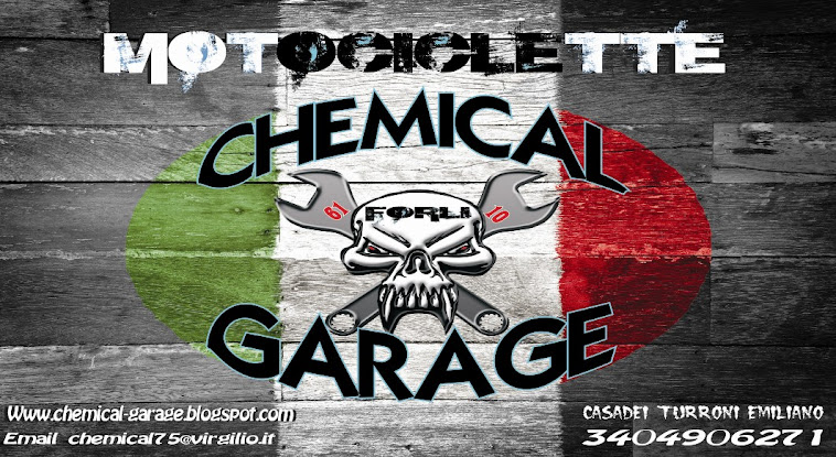 MOTOCICLETTE CHEMICAL GARAGE