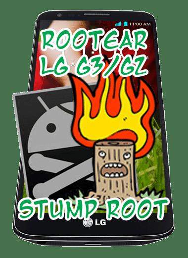 Usando el método Stump Root se puede rootear un LG G3 o un LG G2.