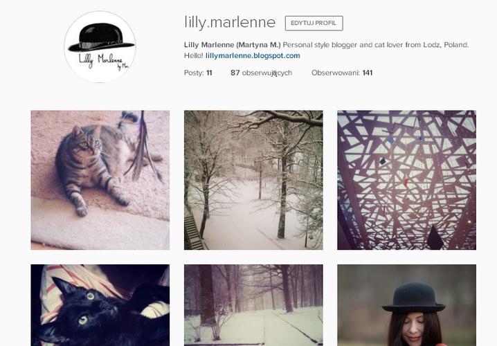 lillymarlenne instagram