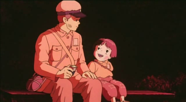 Grave of the Fireflies scenes