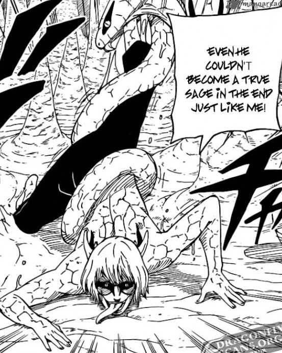 Kabuto transformed into Hentai lurking monster. Wow! a snake turned into a ...