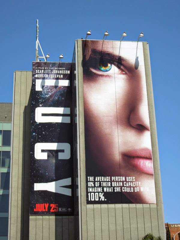 Giant Lucy film billboard