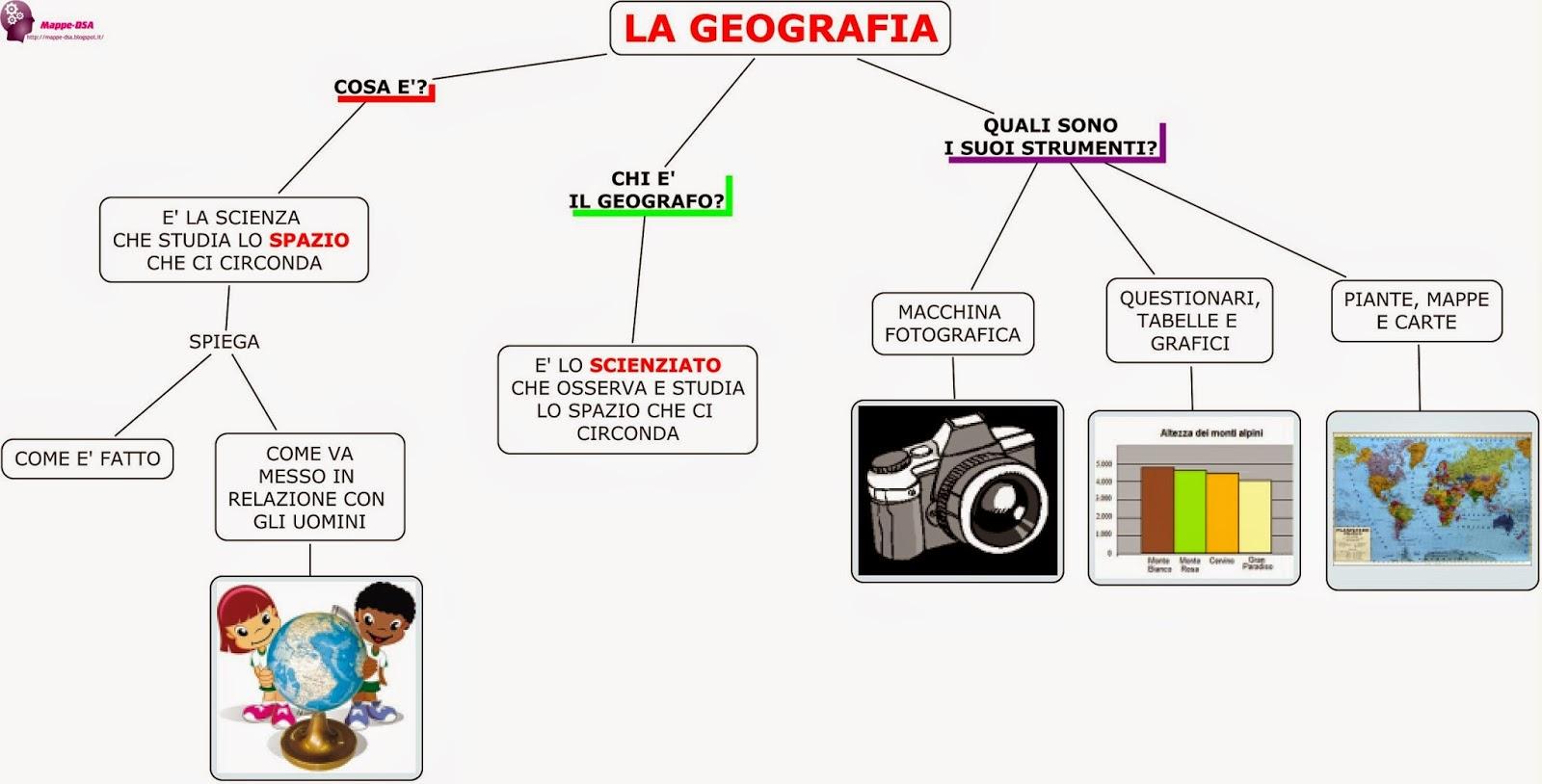 mappa dsa geografia