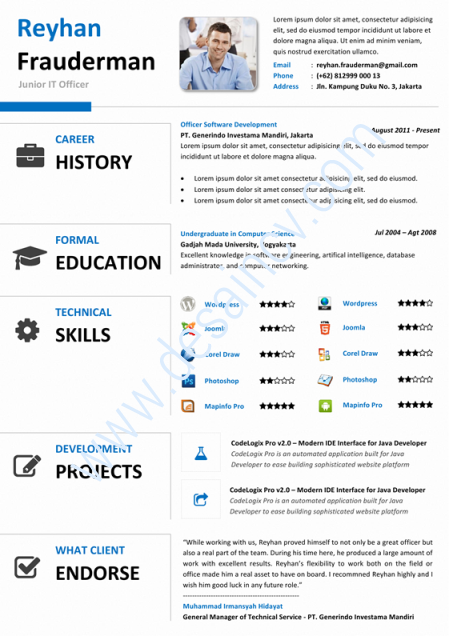 Contoh curriculum vitae xls fermedugrizzly contoh cv format bahasa inggris yelopaper Image collections