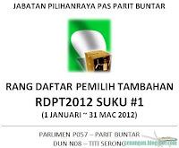 Rang Daftar Pemilih Tambahan rDPT