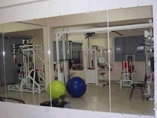 foto de espelho para academia em são paulo zona sul