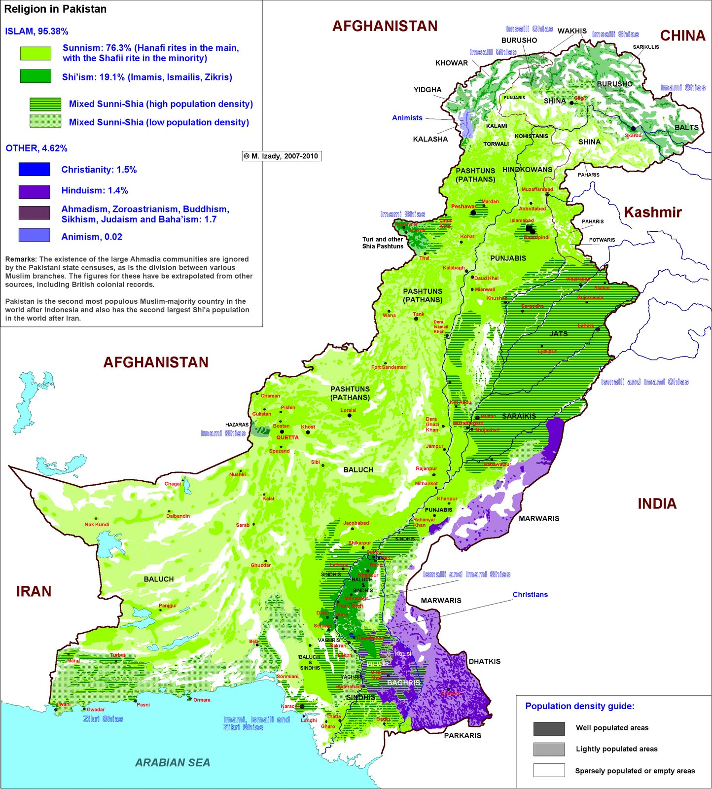 Pakistani Maps