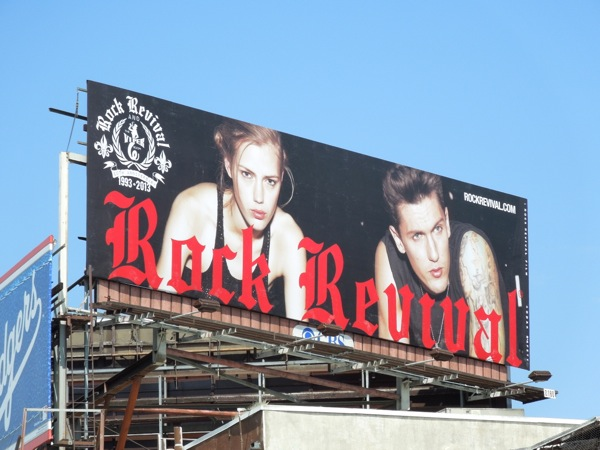 Rock Revival billboard Sunset Strip