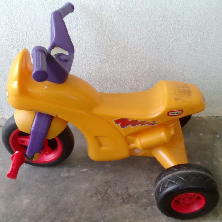 RARE Little Tikes Deluxe Motorcycle Trike