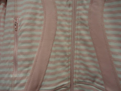 lululemon pig striped stride jacket