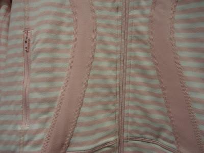 lululemon pig striped stride jacket