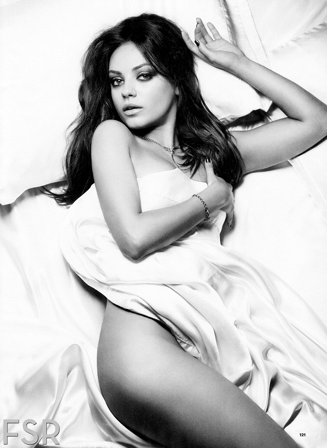 Mila Kunis poses for Esquire magazine (November 2012)