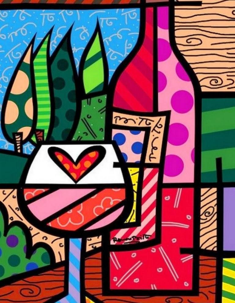 Cuadros pinturas oleos pinturas modernas romero brito - Cuadros para cocinas modernas ...