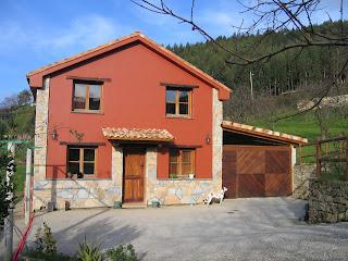 Vivienda unifamiliar en Caldones Asturias del arquitecto Lucia Garcia Serrano