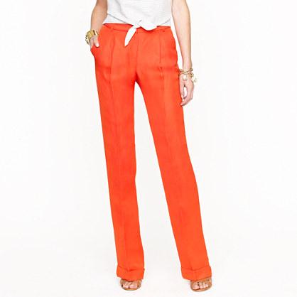 Spendalla's Blog: Orange you crazy for linen pants?