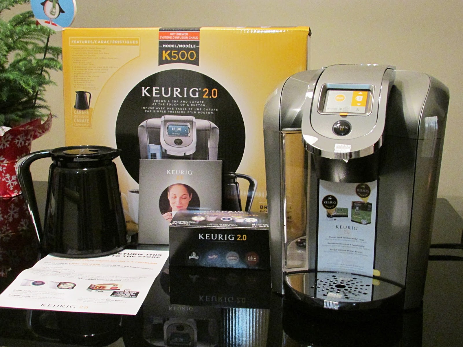 The Blushing Introvert: Keurig 2.0 K500 Review + How I Got a Free ...