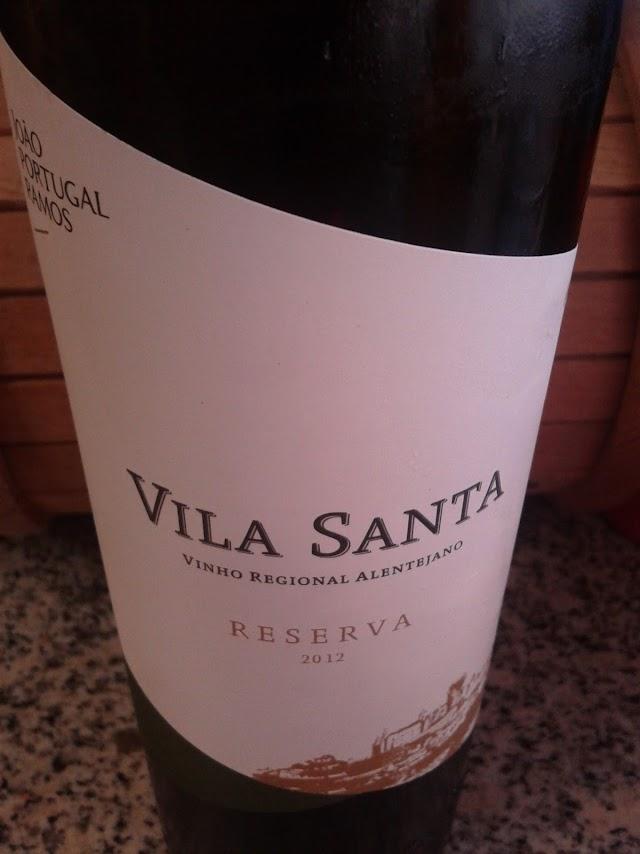 Vila Santa Reserva Branco 2012 - reservarecomendada.blogspot.pt