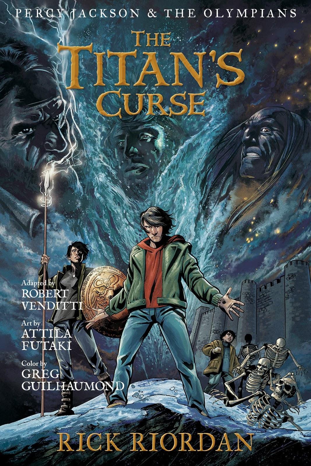 Portada del cómic The Titan's Curse [La maldición del titán]