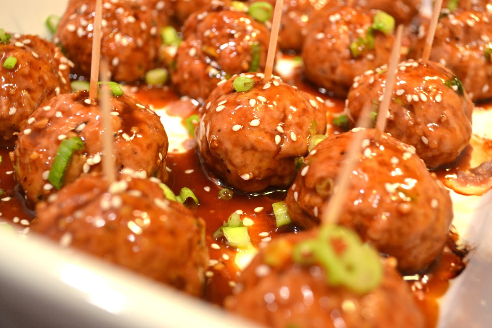 The No Pressure Cooker: Asian Meatballs
