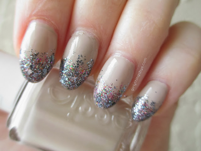 Glitter Gradient Nails, @girlythingsby_e