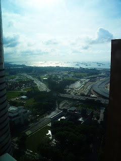 Top view from Springleaf tower Singapore