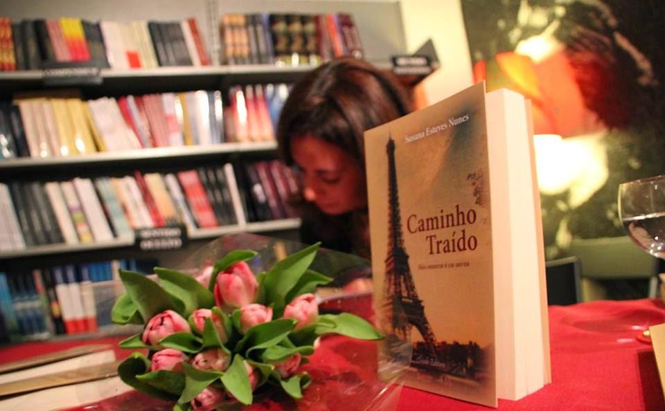 """Lançamento do meu Livro """"Caminho Traído"""""""
