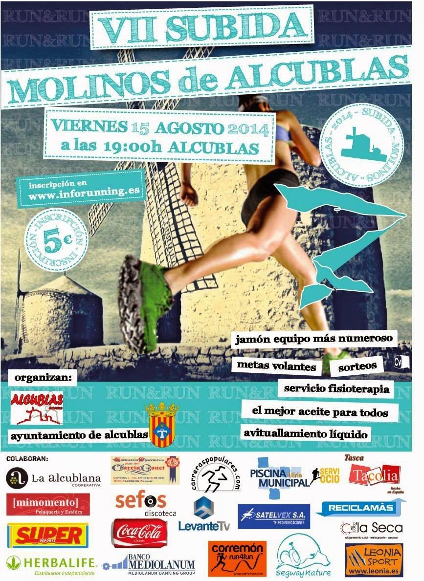 VII SUBIDA MOLINOS DE ALCUBLAS