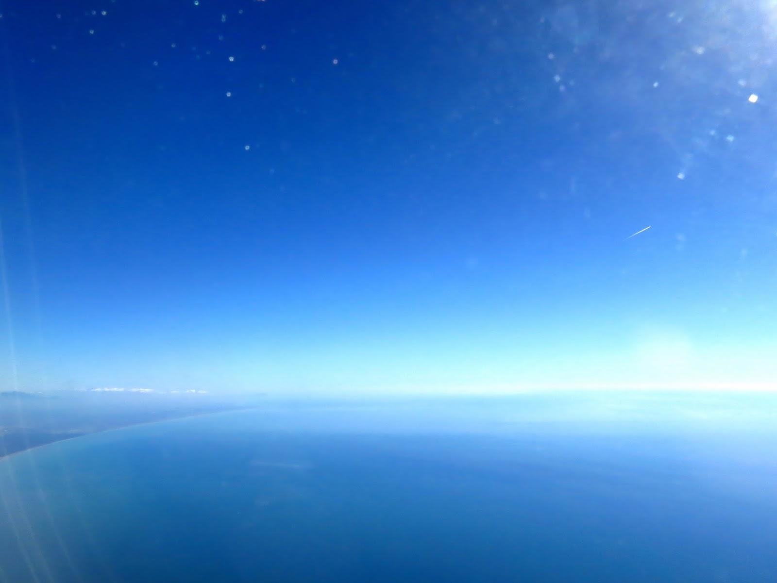Mediterranean Sea in Fiumicino, Italy