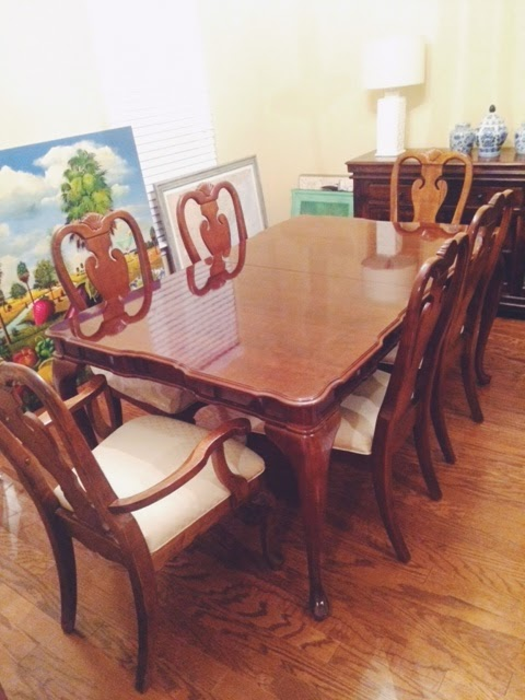 I Paired The Two Additional Chairs With Our Eat In Kitchen Table And I Kind  Of Love The Mismatched Look. Eventually, I Want To Get Bamboo Chippendale  Chairs ...