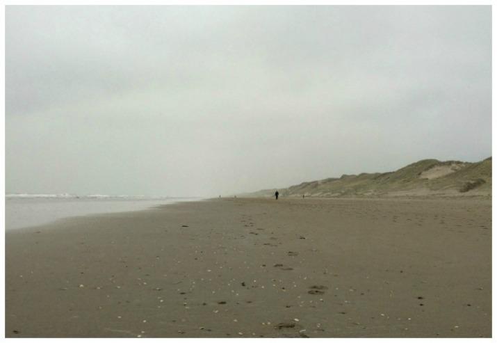 Northern Sea in Egmond aan Zee, Netherlands