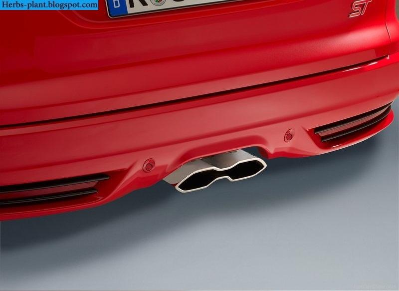 Ford focus car 2013 exhaust - صور شكمان سيارة فورد فوكس 2013